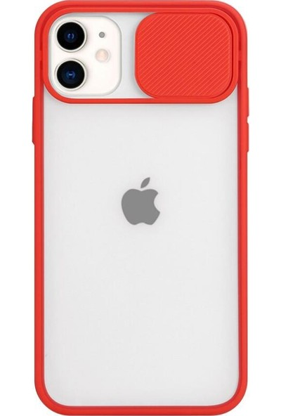 Atalay iPhone 11 Kamera Lens Koruma Kapaklı Kılıf