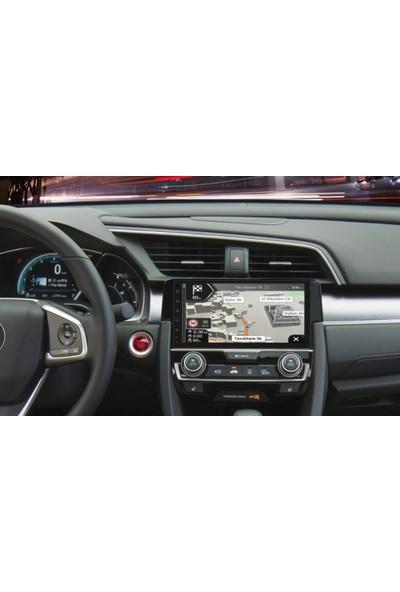 Nicsy Honda Civic 2018 Navigasyon ve Multimedya Sistemi Gps Sistemi