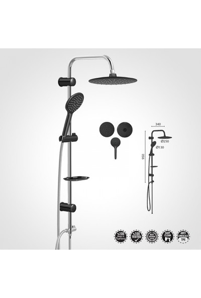 Valtemo Ümit Banyo Duş Seti VS-5280