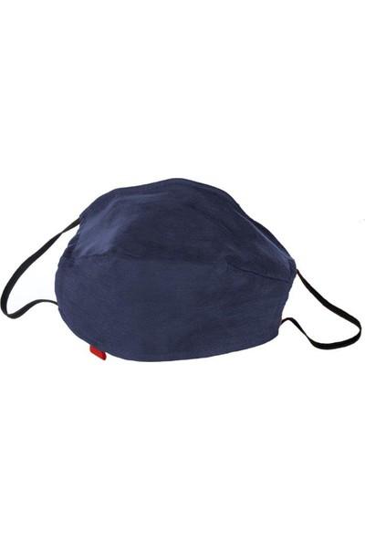 Monopro Cupro Kumaş Telli Renkli Yıkanabilir 6-10 Yaş Çocuk Maske