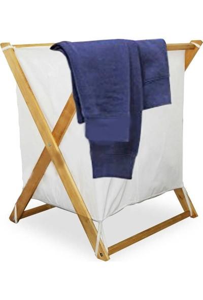 3dproductsale Ahşap Çamaşır Sepeti Kirli Sepeti Oyuncak Kutusu Banyo Çamaşırlık