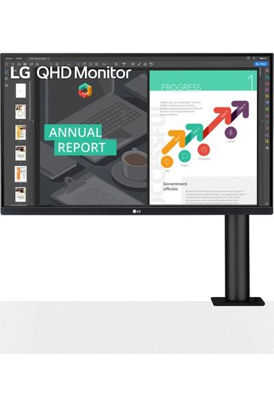 LG 27QN880-B 27'' 75Hz 5ms (HDMI+Display) QHD IPS Monitör