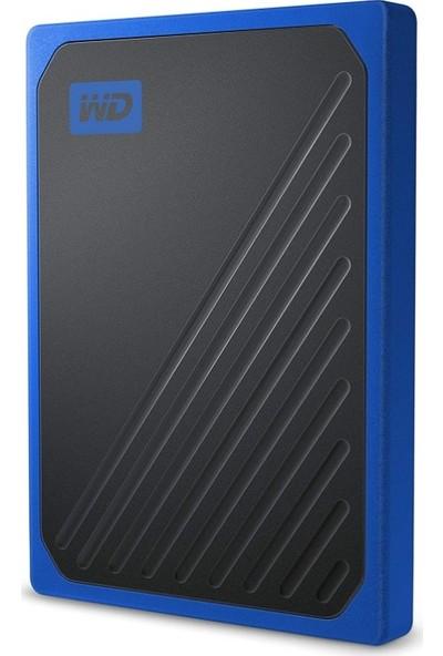 WD 2TB 400MB-1000MB/s Taşınabilir SSD WDBMCG0020BBT-WESN