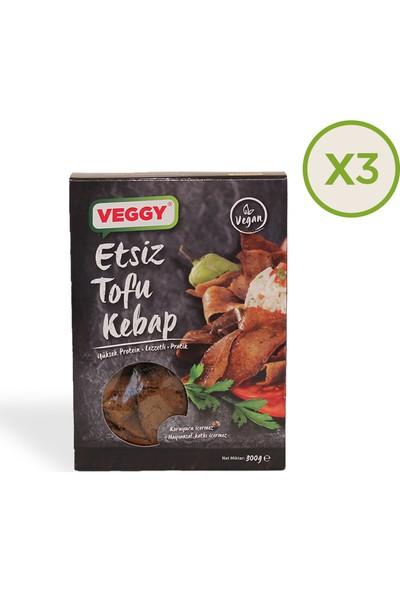 Veggy Etsiz Tofu Kebap 300 gr x 3 Paket