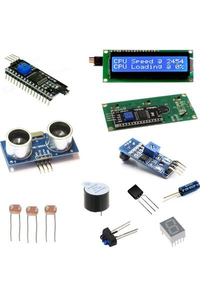 Arduino Başlangıç Seti Uno R3 ( CH340 ) Süper Ideal Set