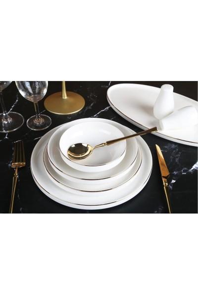 Roy King Gold Passion Bone Chına 24 Prç Yemek Takımı