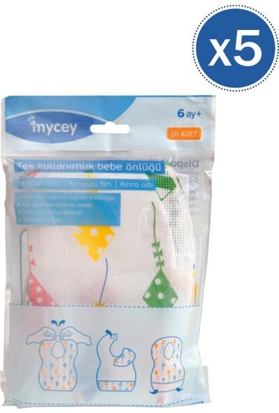 Mycey Kullan At Önlük 10 Adet 5'li Paket