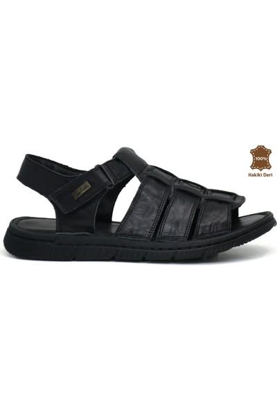 Pierre Cardin 2613 Deri Erkek Sandalet