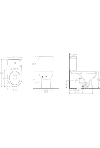 Ideal Standard Archisol Rimless Klozet Rezervuar İç Takım Soft Kapak