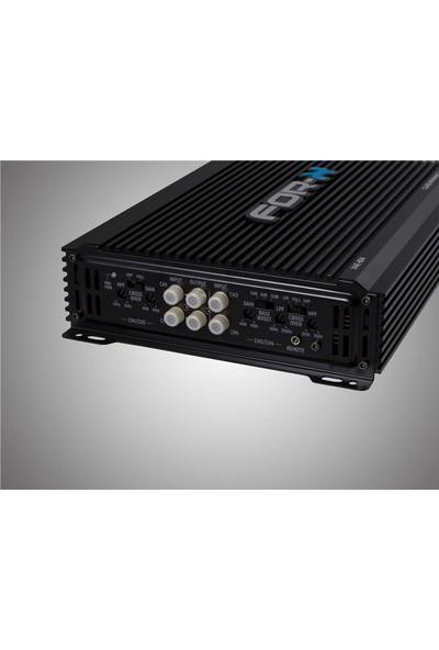For-X XAE-604 4ch Amplifier 4 Kanal Bass Kontrollü Oto Amfi