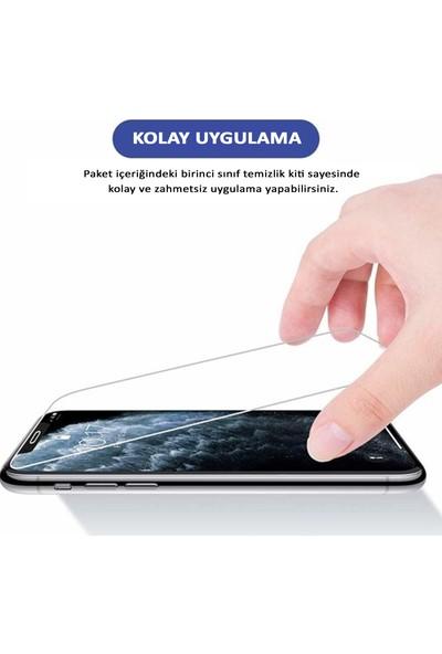 HerBütçeye Xiaomi Redmi 9c Şeffaf Temperli Cam Maxi Glass Ekran Koruyucu