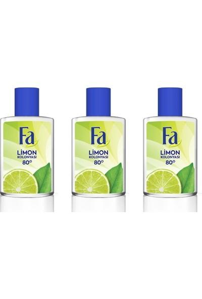 Fa Limon Kolonyası 3 Adet 200 ml