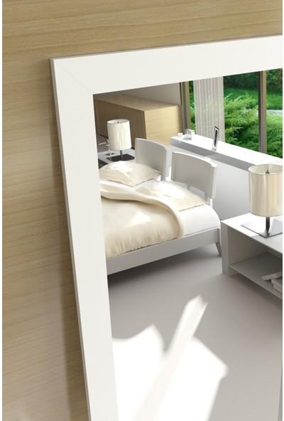 Camex 54 x 138 cm Beyaz Çerçeveli Boy Aynası