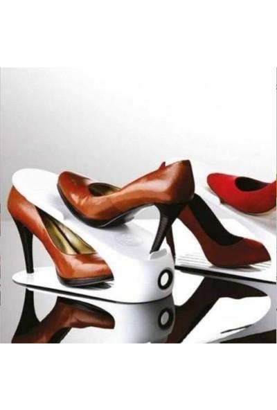 Gondol Ayakkabı Rampası 3 Adet Beyaz