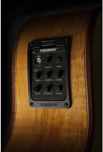 Washburn Comfort Serisi WCG66SCE Elektro Akustik Gitar
