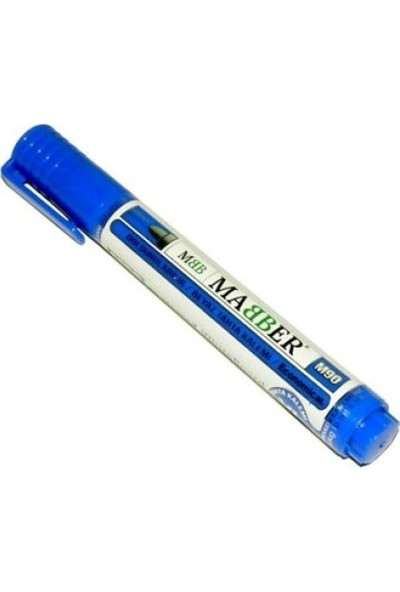 Mabber Doldurulabilir Xl Hazneli Beyaz Tahta Kalemi Kırmızı - Mavi - Siyah 3'lü