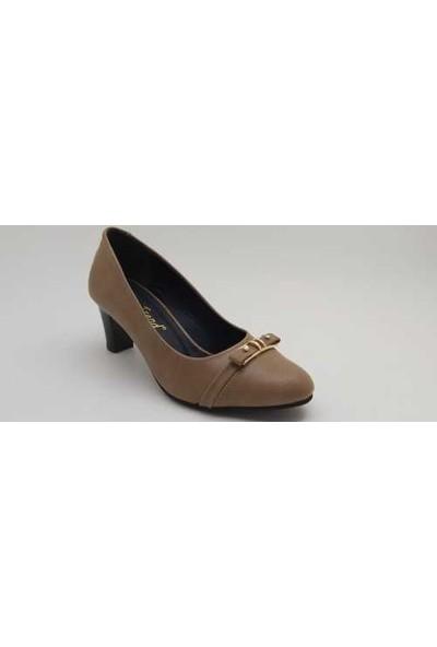 S&S 10142 Kadın Cilt 6 cm Topuklu Günlük Ayakkabı