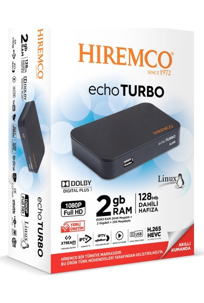 Hiremco Echo Turbo Uydu Alıcısı