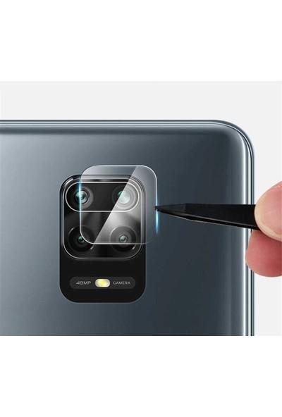 Gpack Xiaomi Redmi Note 9 Pro Kamera Lens Koruyucu Nano Şeffaf