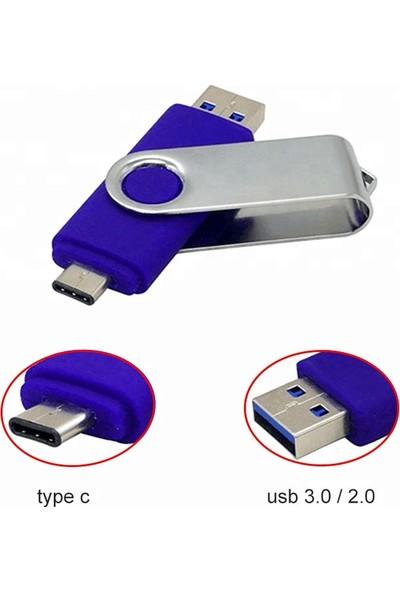 Mars 128 GB Type-C Cihazlar Için USB Otg Bellek
