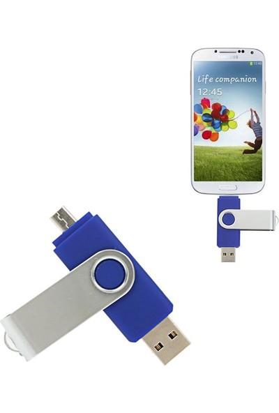 Mars Flash 128 GB Micro USB Cihazlar Için USB Otg Bellek
