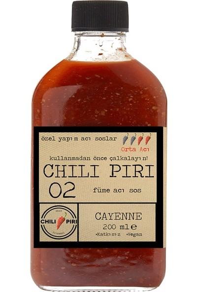 Chili Piri Füme Acı Sos No 02 200 ml - Orta Acı