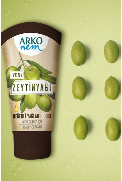 Arko Nem Zeytinyağlı Krem 60 ml x 3
