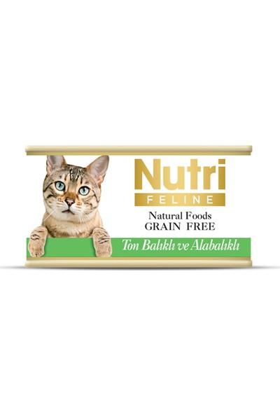Nutri Feline Tahılsız Ton Balıklı & Alabalıklı Yaş Kedi Maması 85 gr x 3 Adet