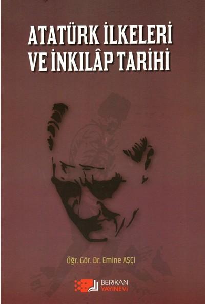 Atatürk Ilkeleri ve Inkilap Tarihi - Emine Aşçı