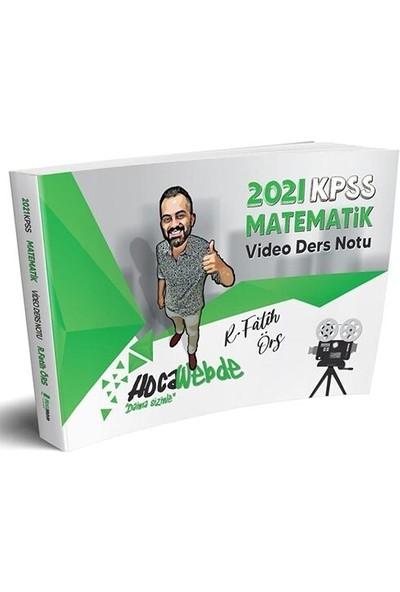 HocaWebde Yayınları 2021 KPSS Matematik Video Ders Notu - R. Fatih Örs