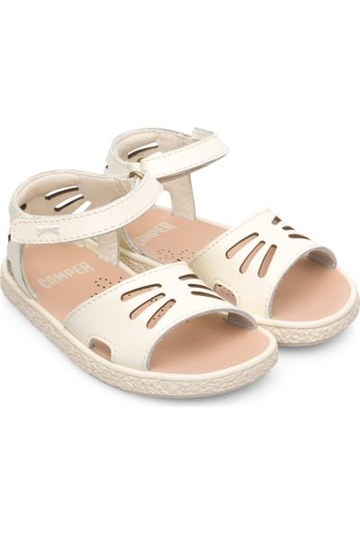 Camper Mıko Bej Çocuk Sandalet