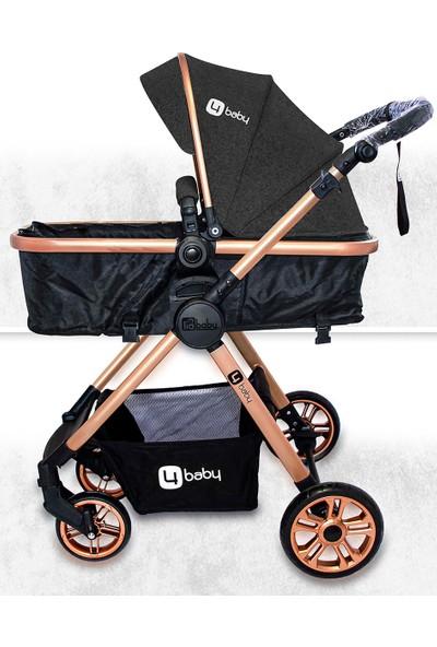 4 Baby Comfort Gold Travel Sistem Bebek Arabası ve Puset