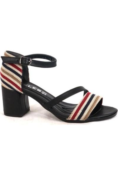 Ustalar Ayakkabı Çanta Siyah Kadın Topuklu Ayakkabı 319.1002