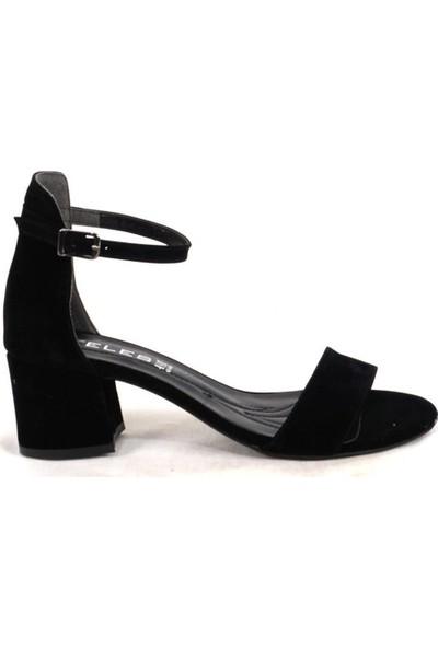 Ustalar Ayakkabı Çanta Siyah Süet Kadın Topuklu Ayakkabı 319.701