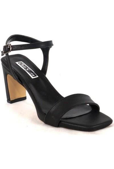 Ustalar Ayakkabı Çanta Siyah Kadın Topuklu Ayakkabı 525.7000