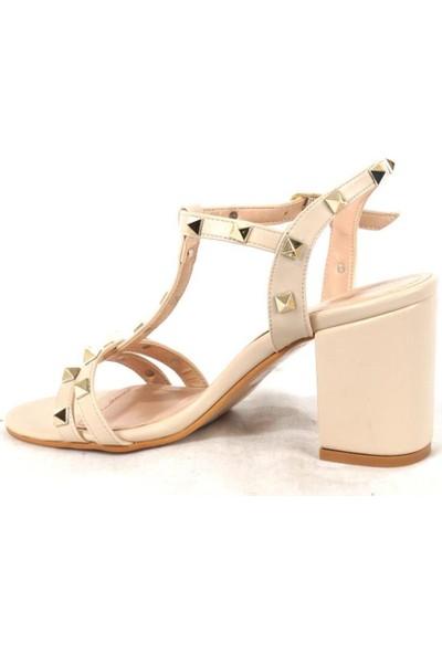 Ustalar Ayakkabı Çanta Ten Kadın Stiletto 529.528