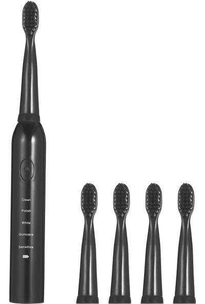 Buyfun Sa-86 Elektrikli Diş Fırçası USB Şarj Edilebilir Diş (Yurt Dışından)