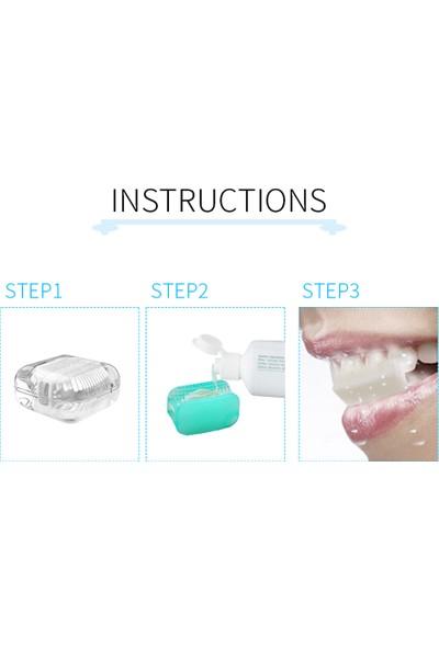 Buyfun 360 Derece Tembel Çiğneme Çok Yönlü Temizlik Diş Fırçası (Yurt Dışından)