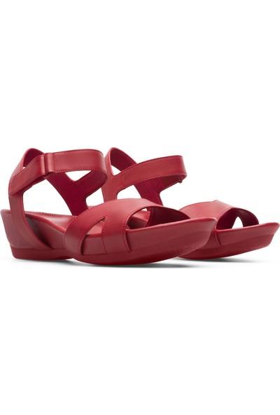 Camper Micro Kırmızı Kadın Sandalet