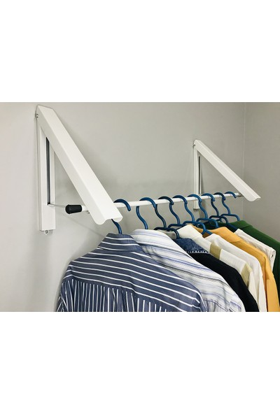 İrem Duvar Askısı Elbise Askısı Organizer Çamaşır Kurutma