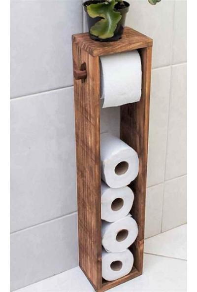 Mavera Wc Kağıtlık Tuvalet Kağıtlığı Ahşap Banyo