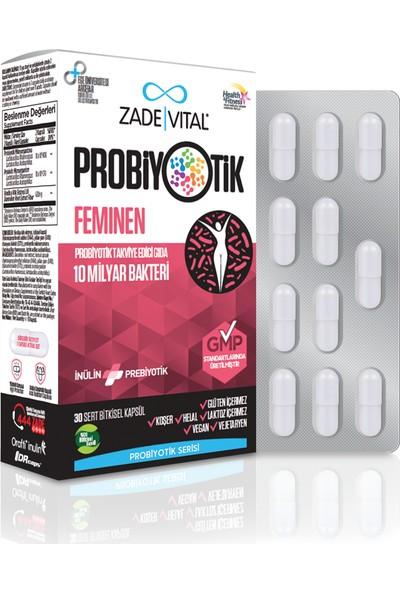 Zade Vital Probiyotik Feminen 30 Kapsül
