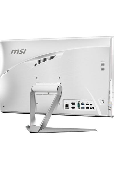 "MSI Pro 22XT 9M-029XEU Intel Celeron G4930 8GB 256GB SSD Freedos 21.5"" FHD All In One Bilgisayar 9M-029XEU"
