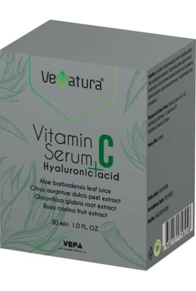 Vefa Venatura Vitamin C Serum + Hyaluronic Acid 30 ml