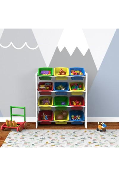 Fora Home Box In Box 12 Sepetli Oyuncak Dolabı
