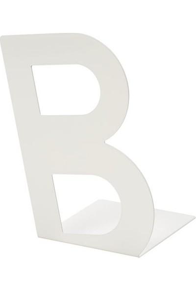 Slv Busbasse Kitap Tutucu Beyaz
