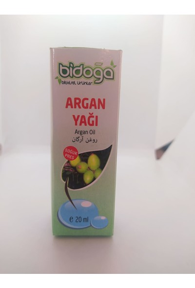 Bidoğa Bitkisel Ürünler Argan Yağı