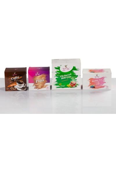 Wess 3 Lü Çay+Kahve+Roibos+Plus