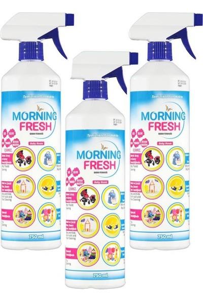 Morning Fresh Sabah Ferahlığı Temizleyici Baby Room 750 ml 3'lü