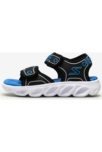 Skechers Hypno-Splash Büyük Erkek Çocuk Siyah Sandalet 90522L Bkbl